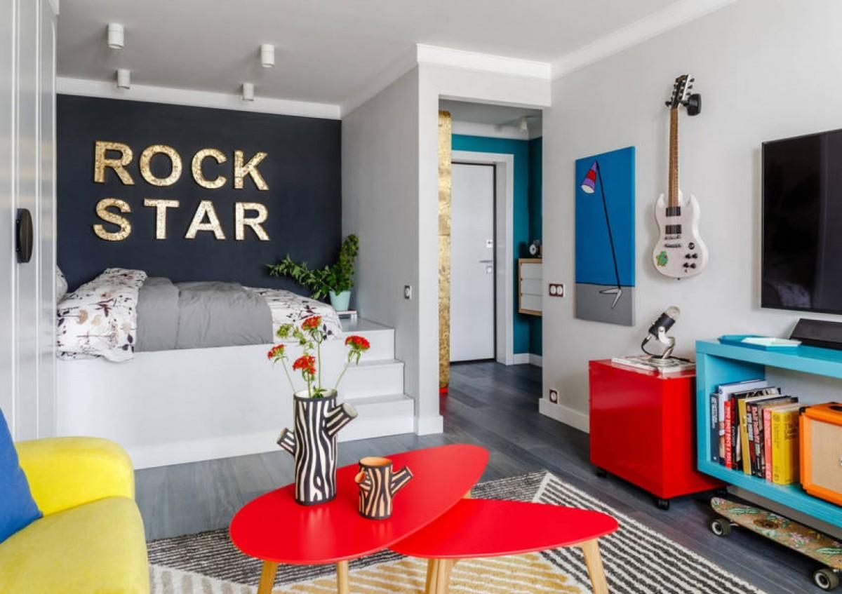 Ремонт однокомнатной квартиры: 10 идей для расширения пространства