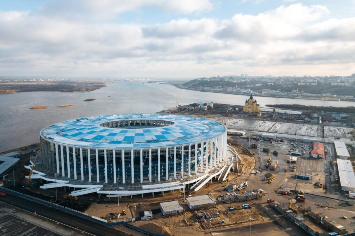 Как выглядят двенадцать стадионов чемпионата мира