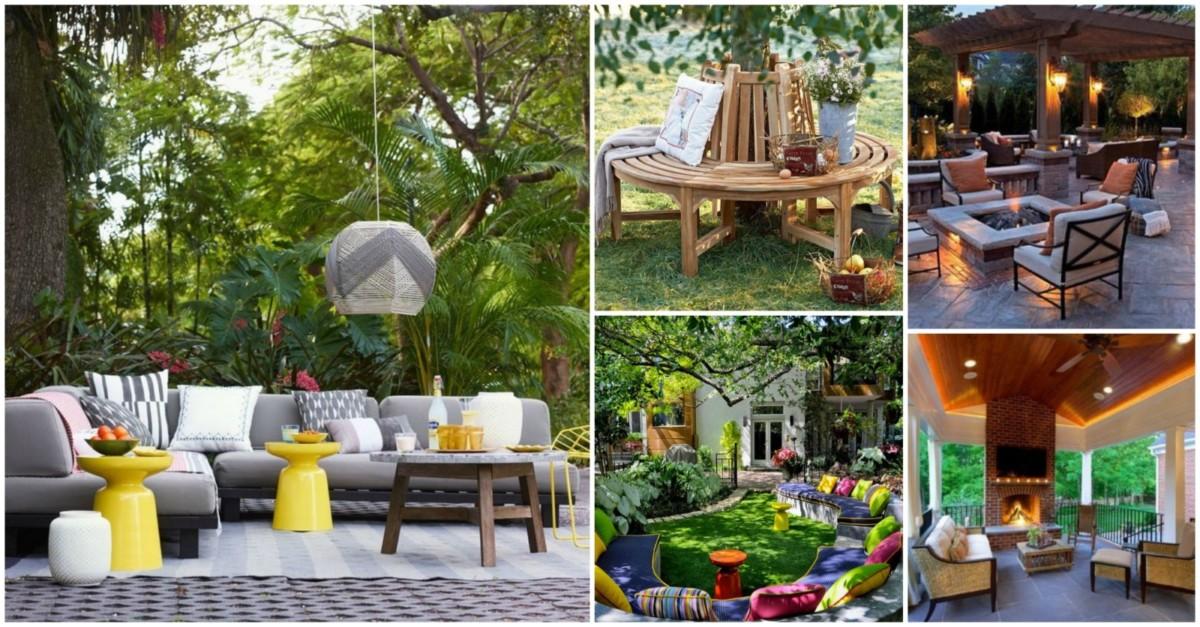 30 фото самых интересных и простых идей дизайна сада своими руками