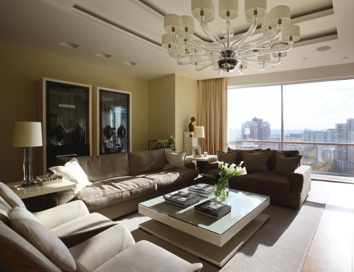 Дизайн потрясающей квартиры в Москве