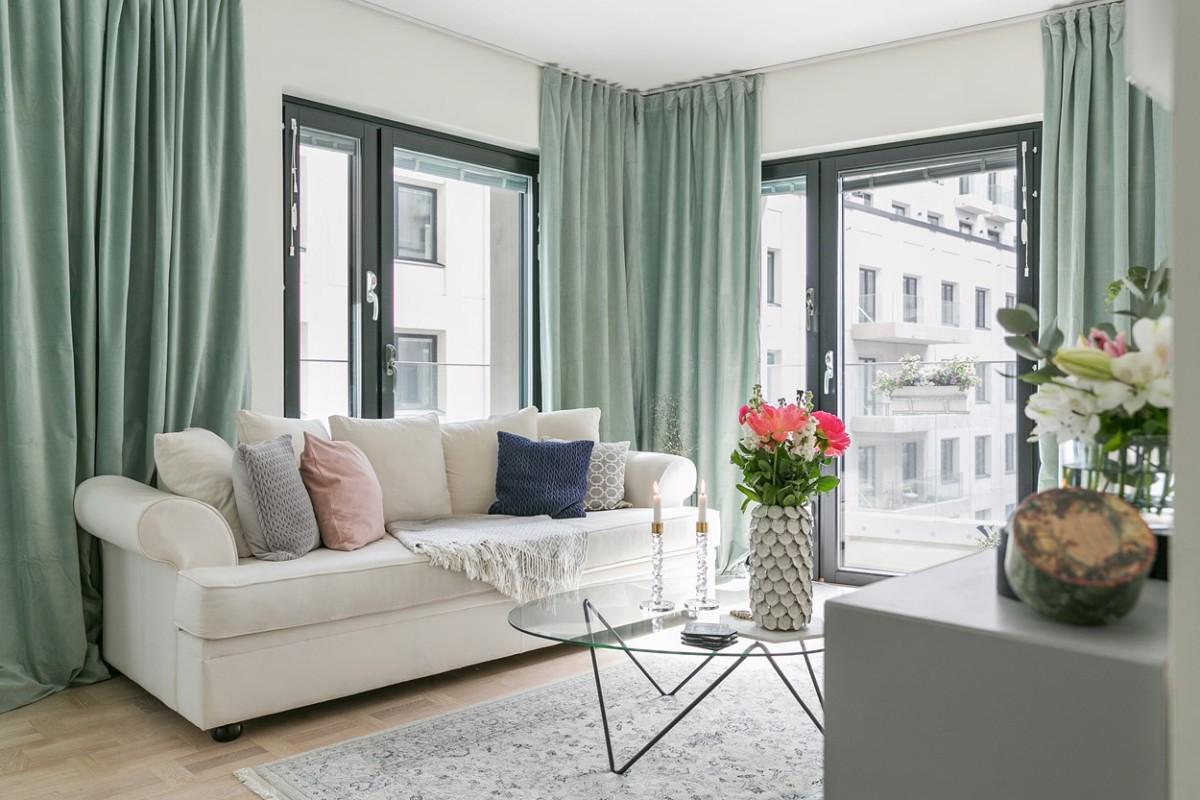 Квартира в скандинавском стиле для молодой девушки