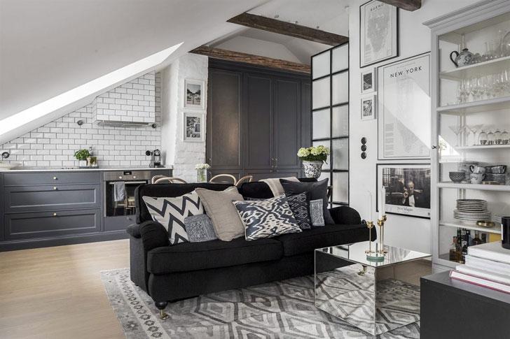 Дизайн однокомнатной квартиры площадью 32 метра
