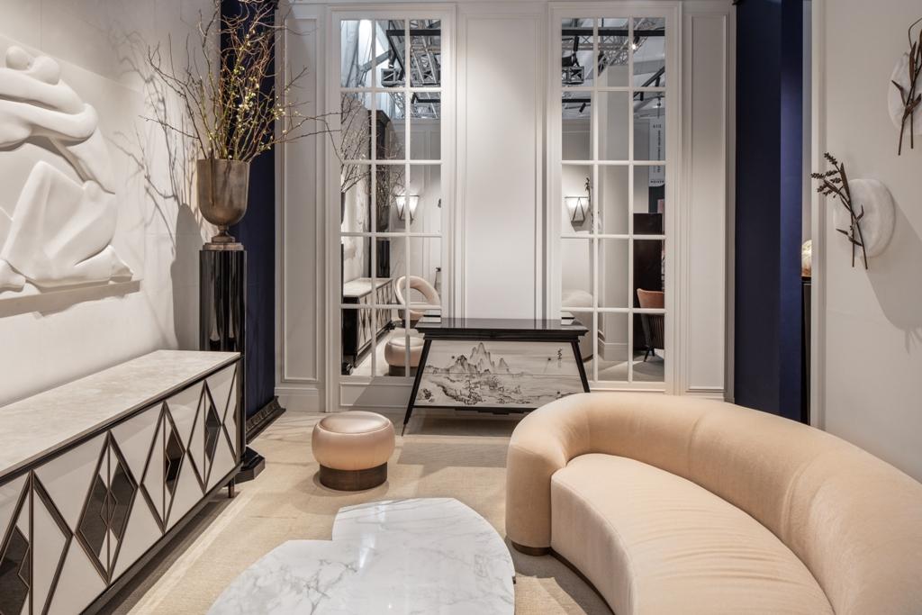 На выставке в Дубае была представлена новая коллекция мебели Лейлы Улуханли