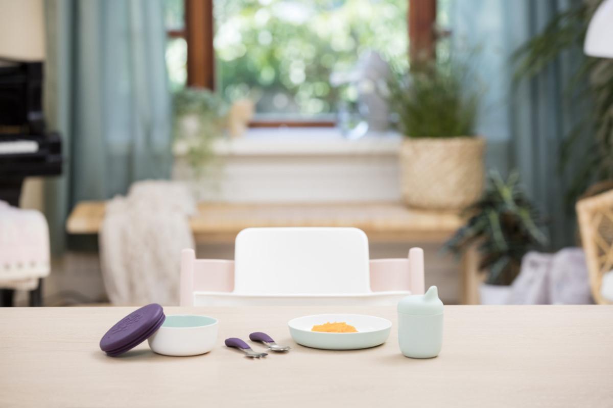 Идея на Бейби шауэр: комплект детской посуды