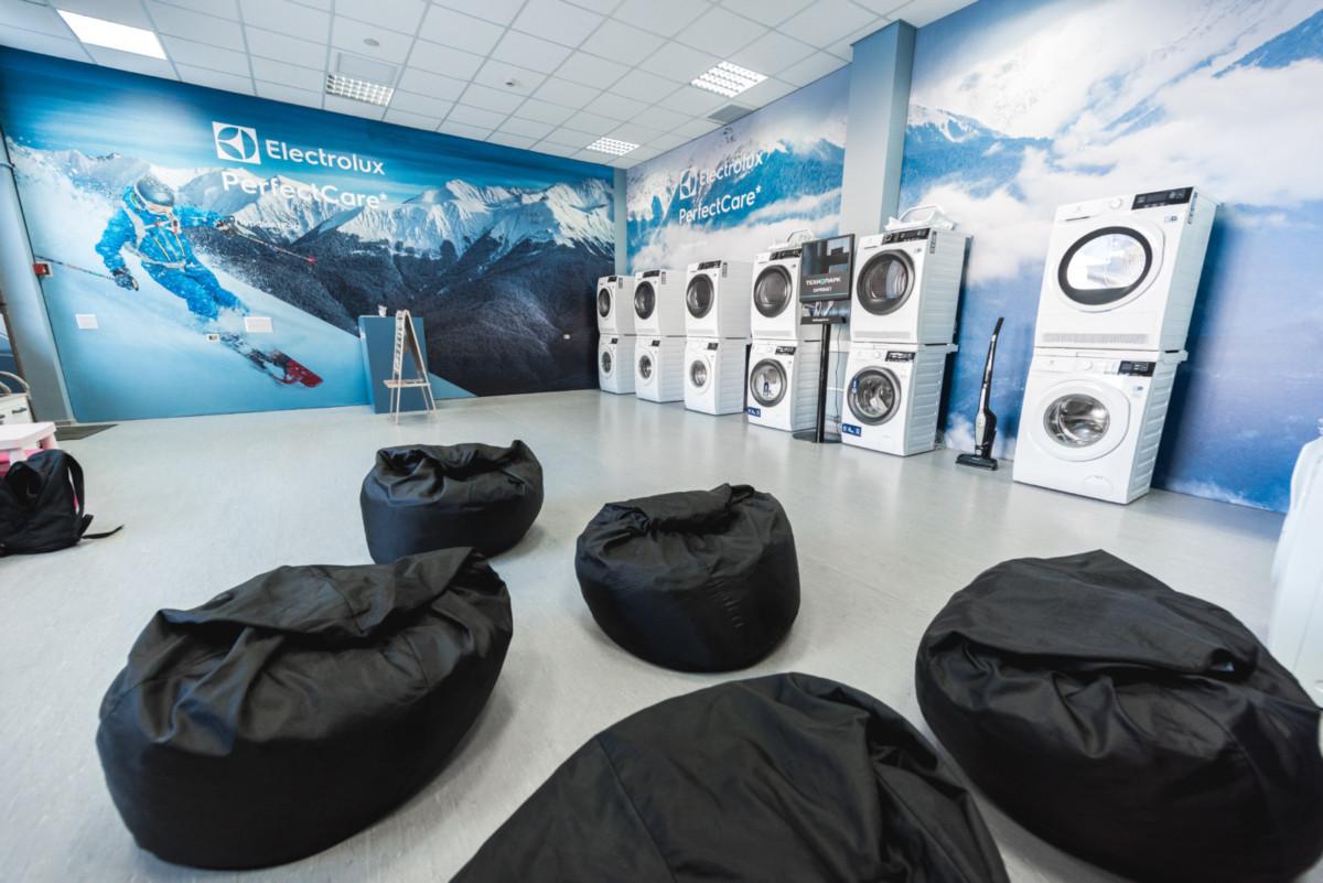 Компания Electrolux открыла первую в России высокогорную прачечную