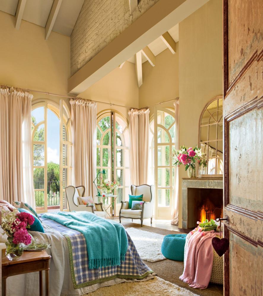 20 очаровательных разноцветных спален