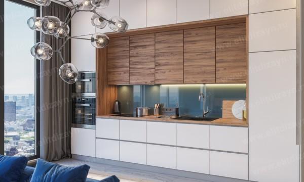 Кухня/столовая в  цветах:   Коричневый, Светло-серый, Серый, Фиолетовый.  Кухня/столовая в  стиле:   Минимализм.