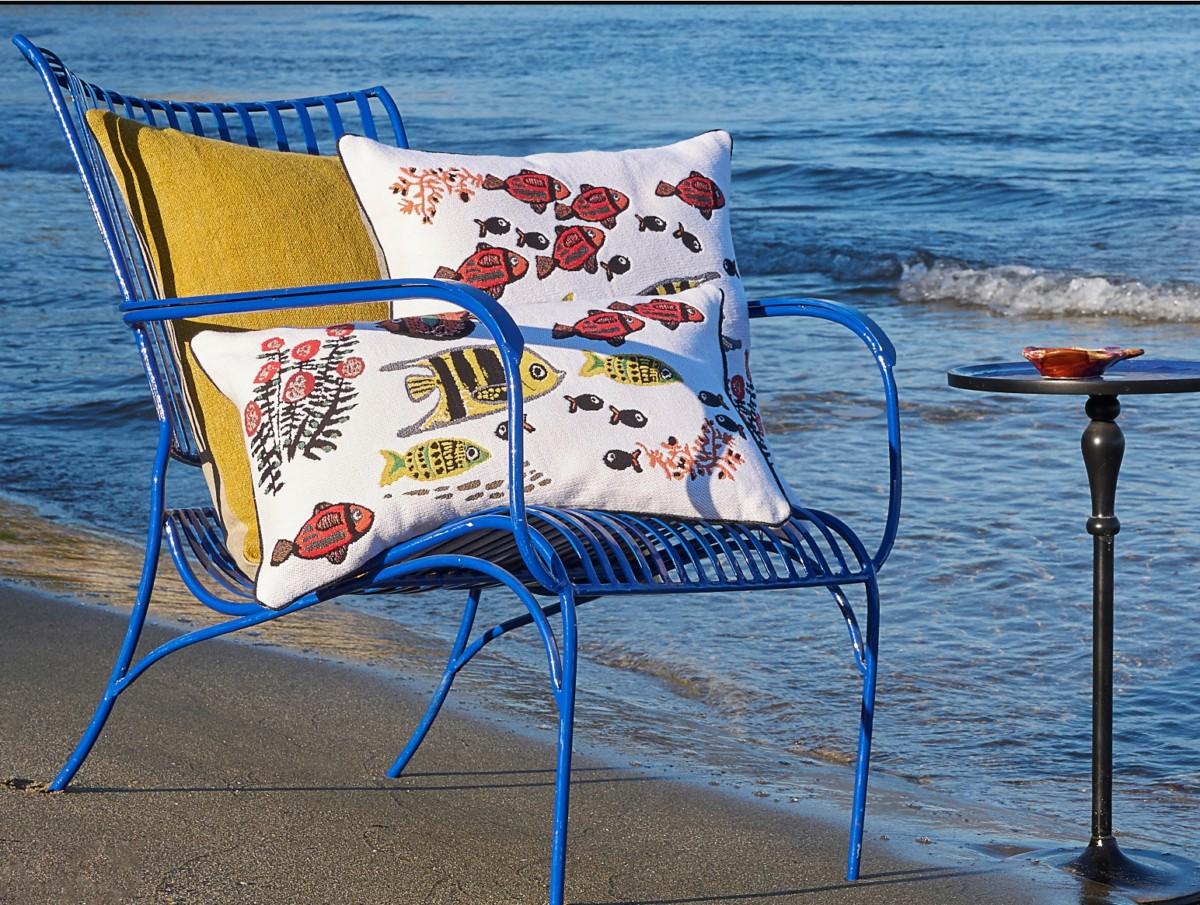 Yves Delorme вдохновляет на отпуск у моря