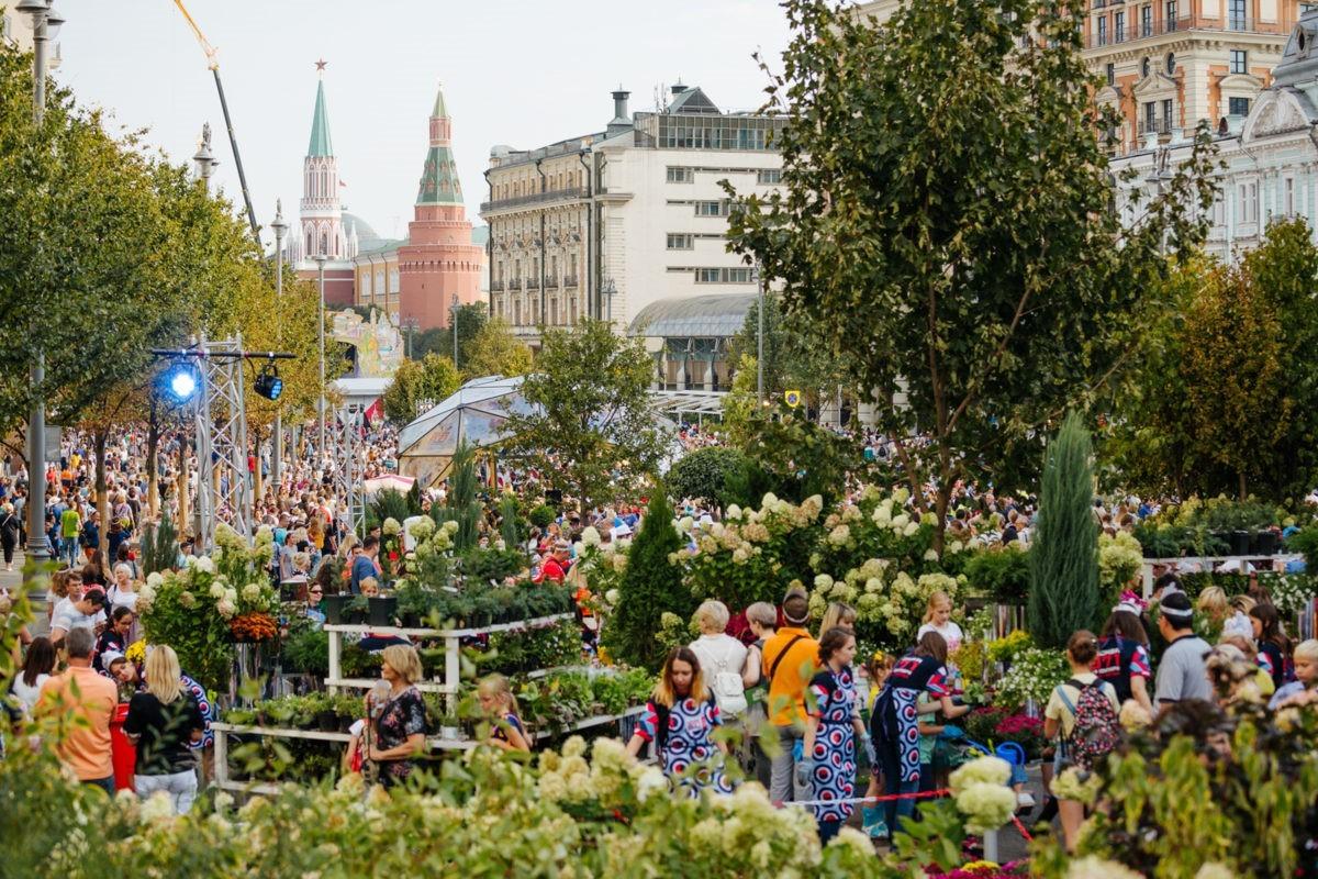 В Москве всё готово к старту фестиваля «Цветочный джем»