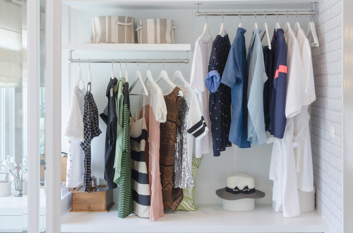 12 способов хранить вещи легко и удобно