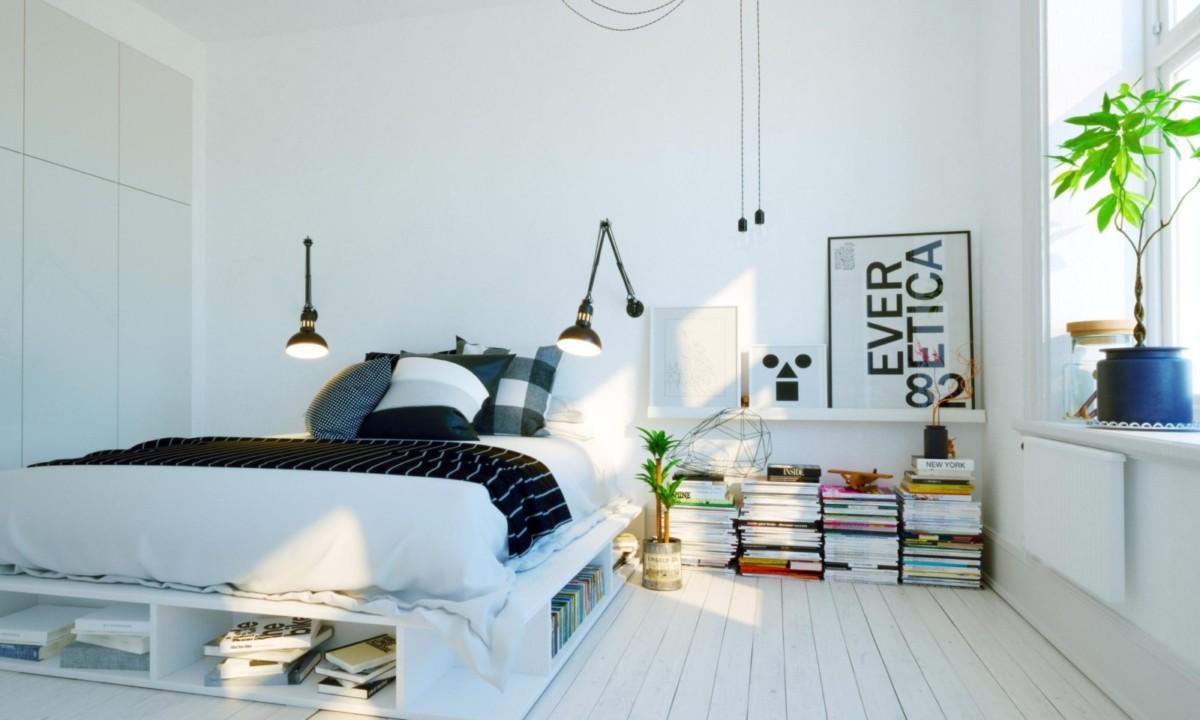 10 интерьерных решений для маленькой спальни