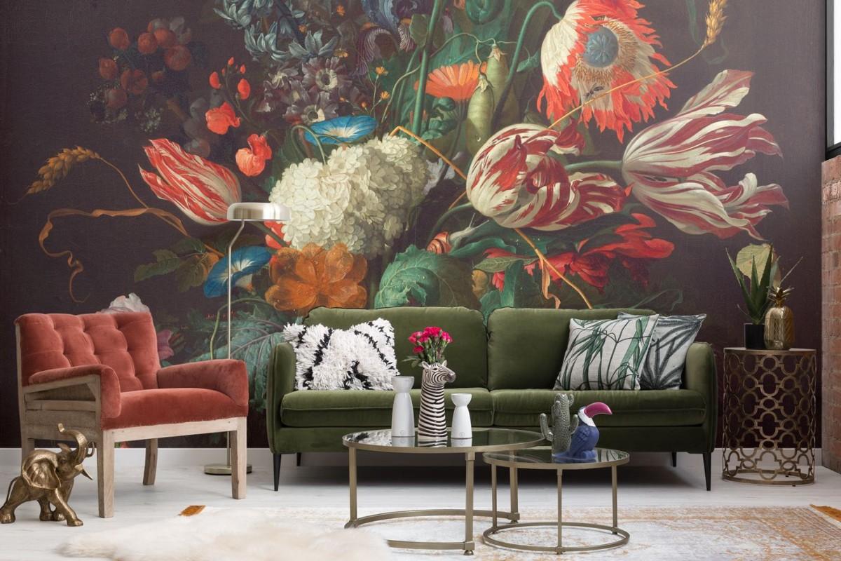 Цветы на стене: 6 видов обоев с цветами на любой вкус