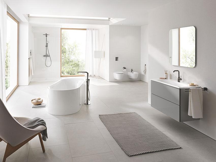 Новая коллекция сантехнической керамики и ванн Grohe Essencе
