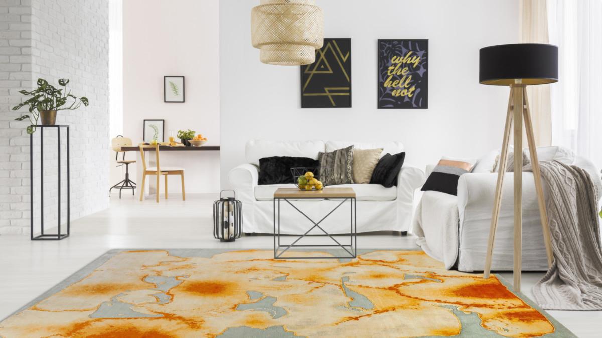 Как подобрать современный ковёр: акцент в интерьере от Art de Vivre