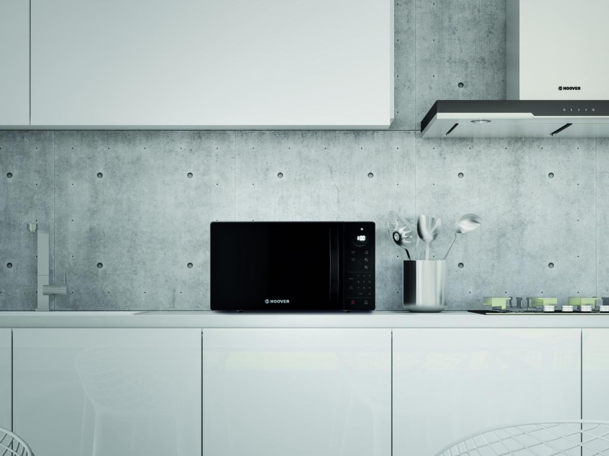 Компания Haier Europe представила три модели микроволновых печей с сенсорными панелями управления