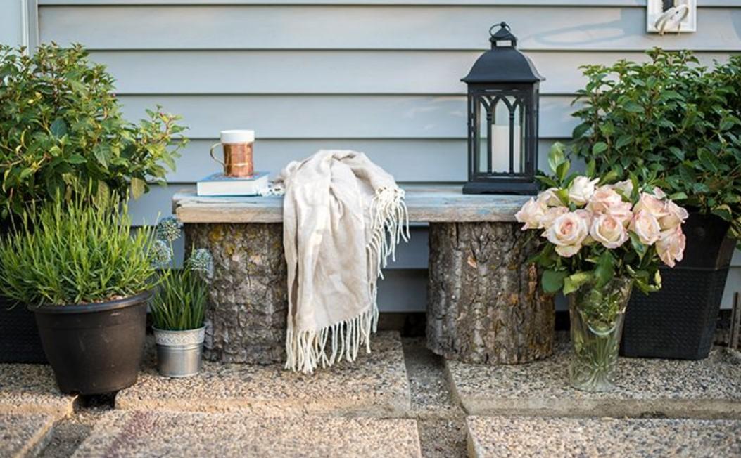 Скамейка для дачи: выбираем садовую мебель