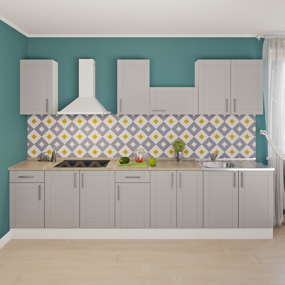 «Леруа Мерлен» представляет коллекции модульных кухонь
