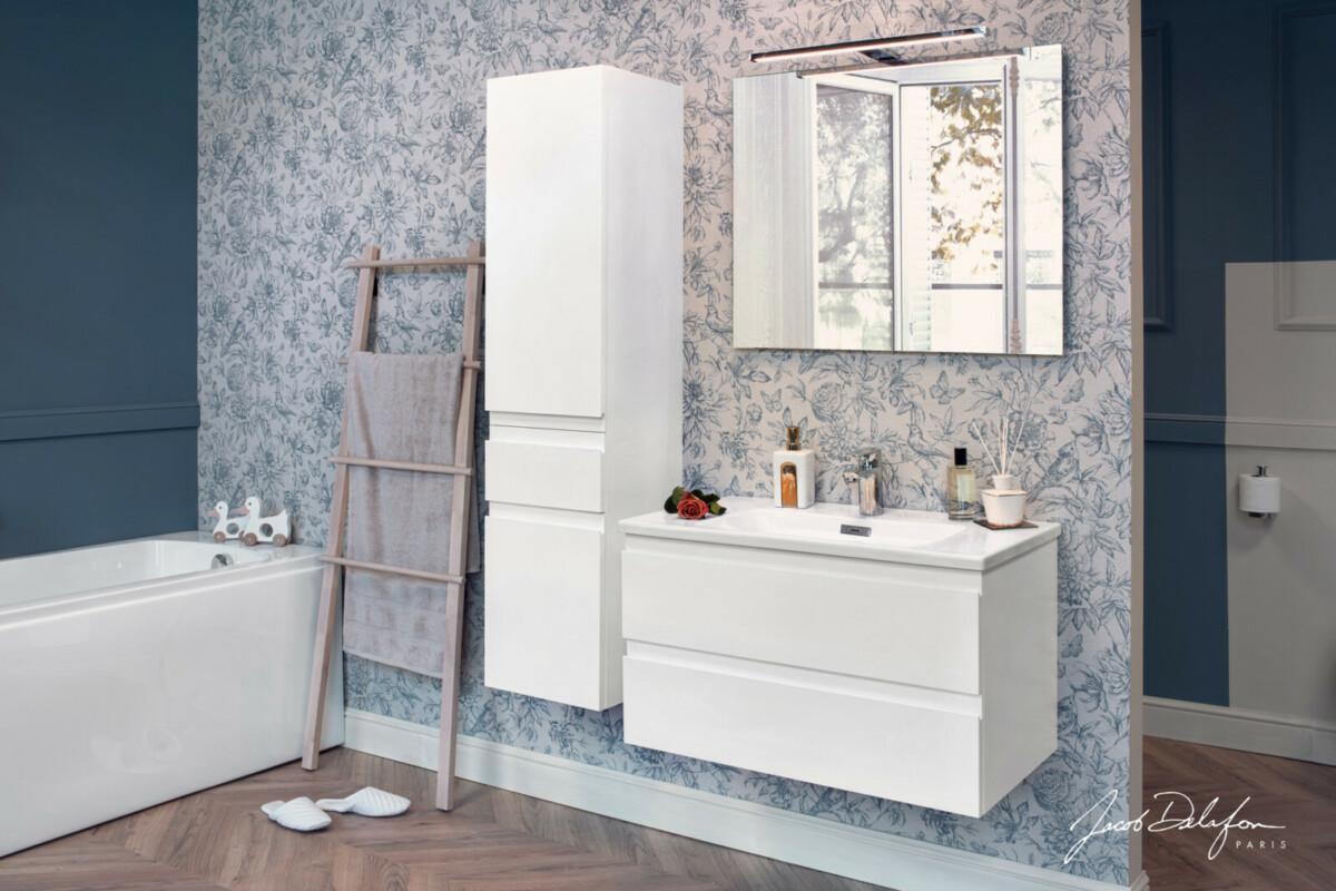Серия Madeleine от Jacob Delafon: интересное оформление ванной комнаты