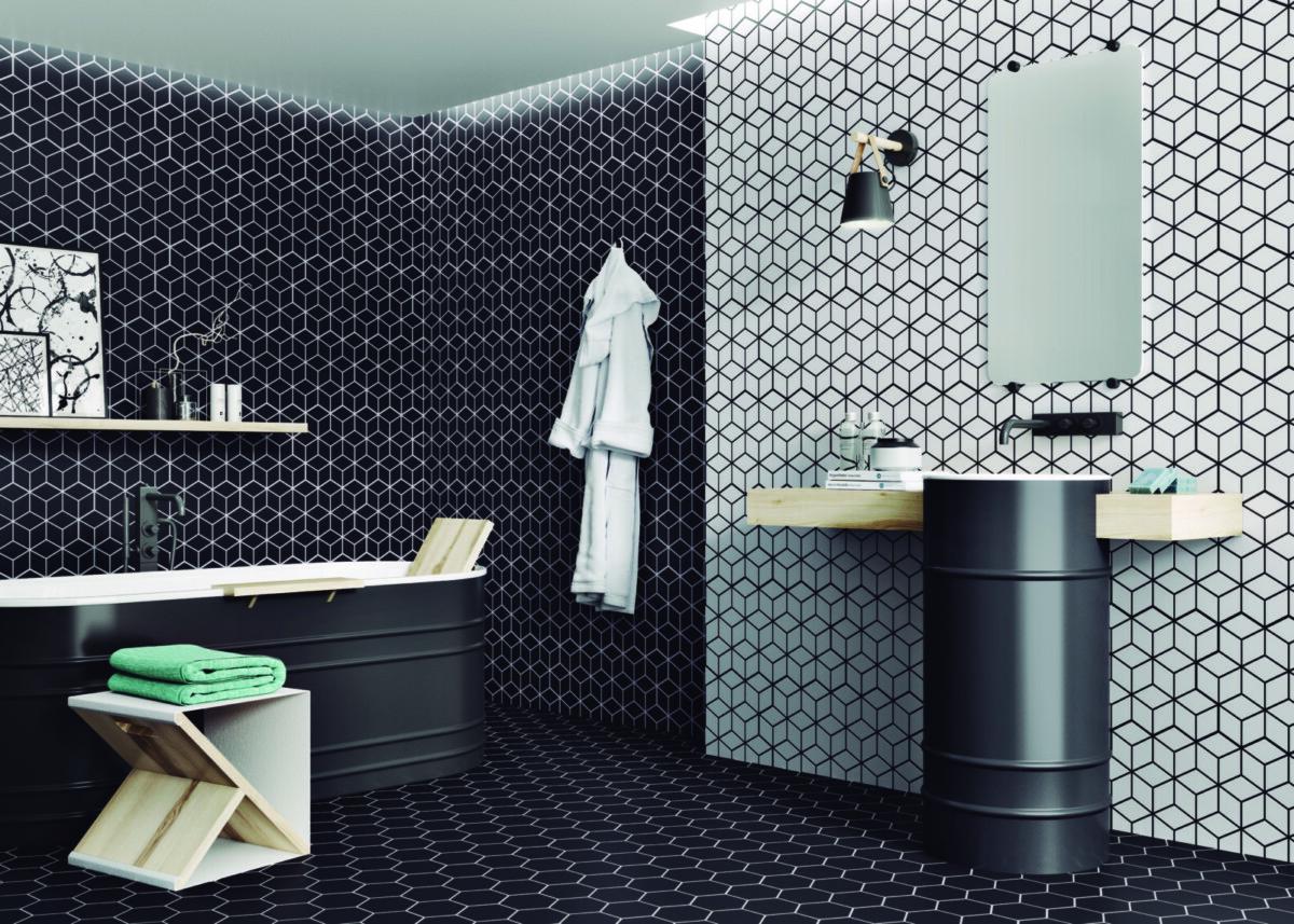 Дизайнеры Realonda порадовали коллекцией маленькой плитки Rhombus