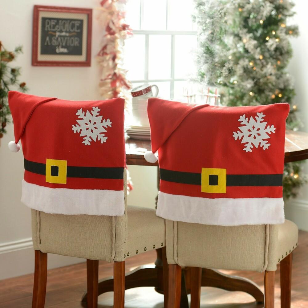 Не забыть про стулья: готовим комнату к Новому году