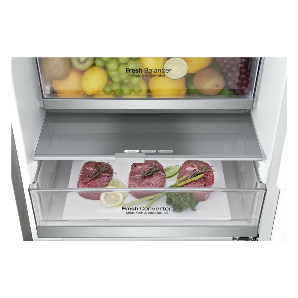 Компания LG выпустила две модели холодильников тёмно-мраморного цвета c новыми функциям