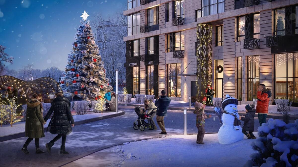 ЖК «Манифест» приготовил новогоднюю акцию