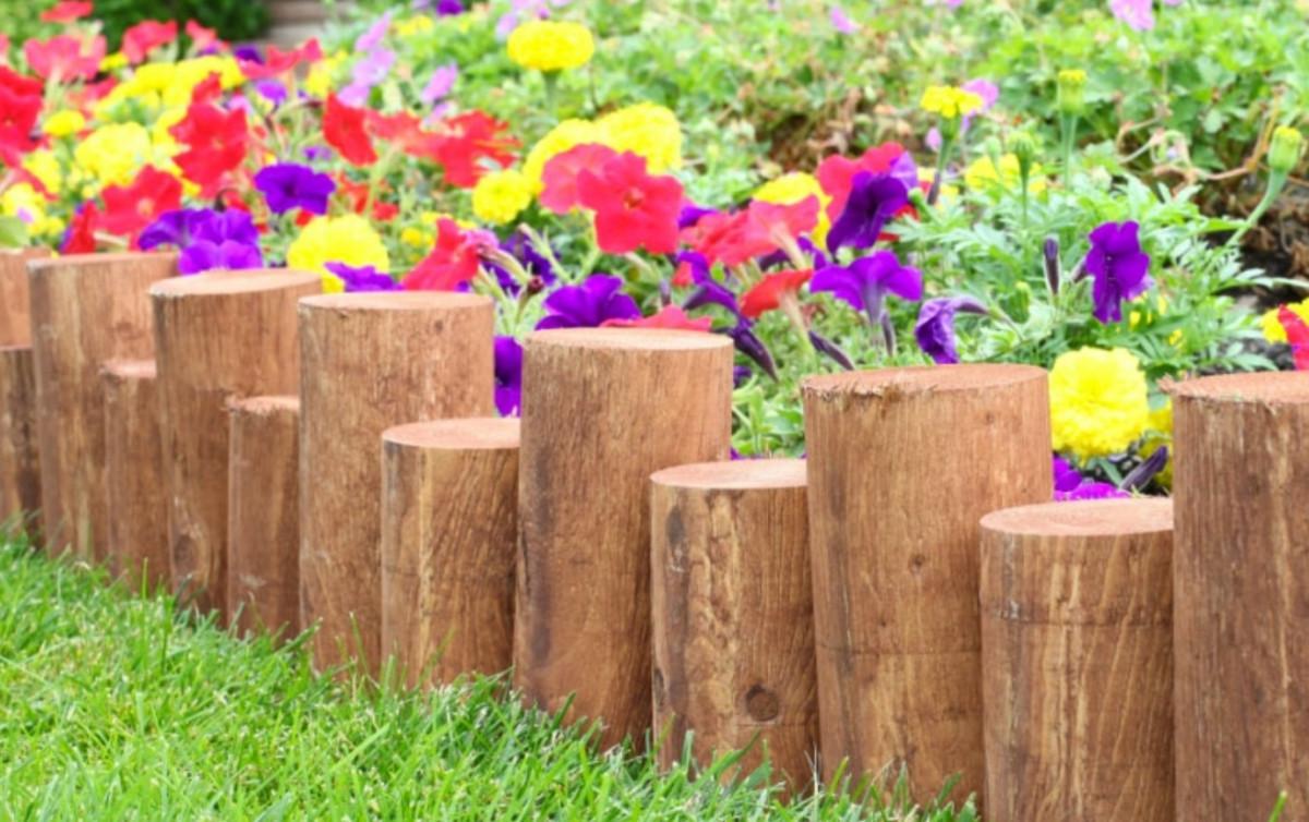 Бордюры для клумб: 17 способов добавить эстетики садовому пространству