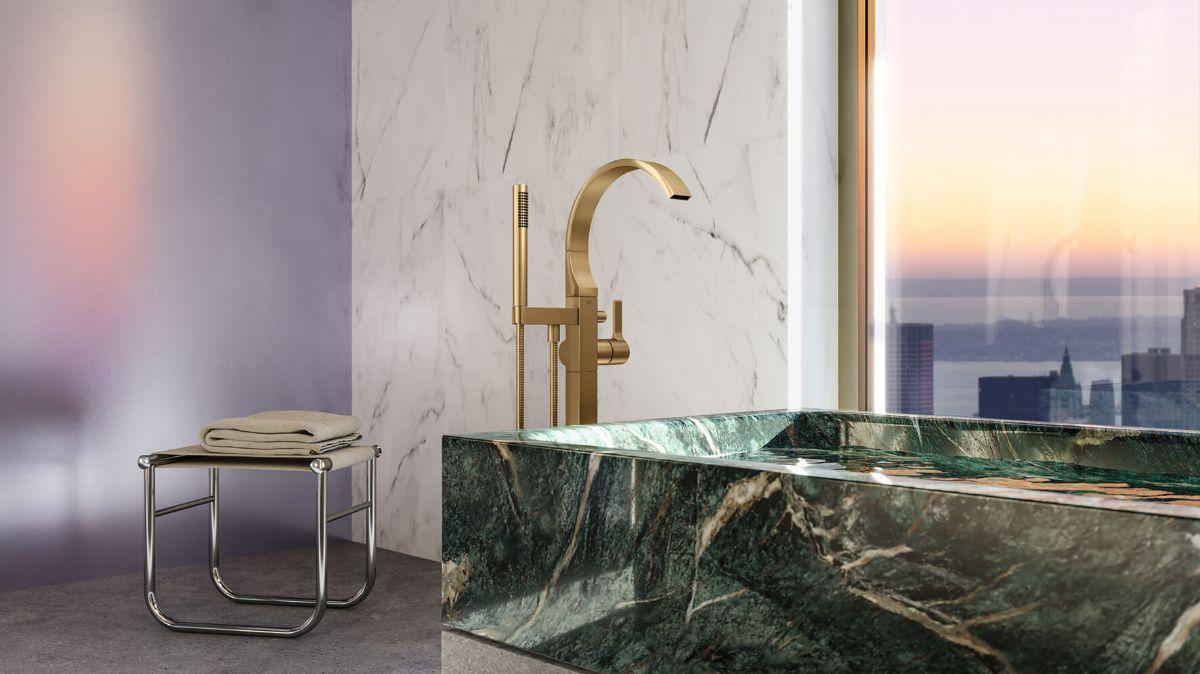 Компания Dornbracht выпустила новую серию смесителей для ванной комнаты CYO