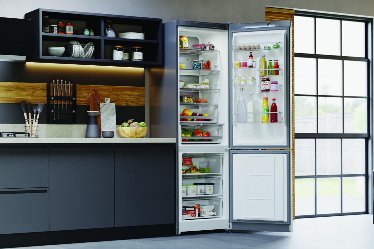 Компания Hotpoint представила новых холодильник Total No Frost с технологией Food Care System