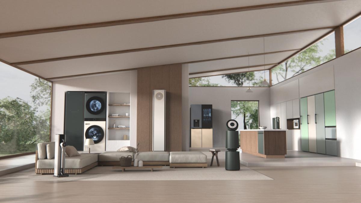 LG Electronics запускает новую серию удобной бытовой техники